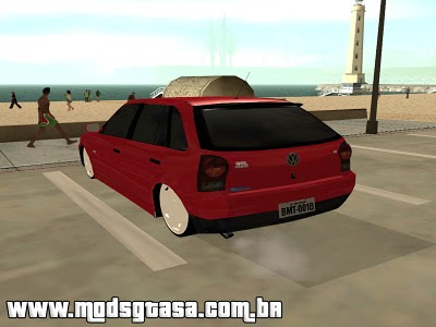 Volkswagen Gol G4 1.8 Power 2008 Edit para GTA San Andreas