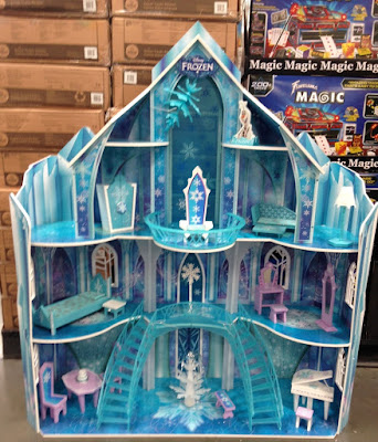 KidKraft Disney Frozen Snowflake Mansion at Costco (Elsa, Anna, Kristoff, Olaf not included)