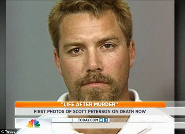 ႔ရက္မ်ား(Scott Peterson pictured on death row