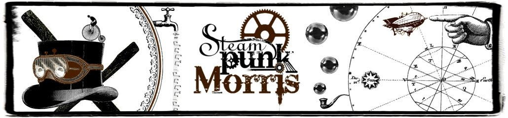 Steampunk Morris at The Chatham Dockyards Festival of Steam & Transport, 2013