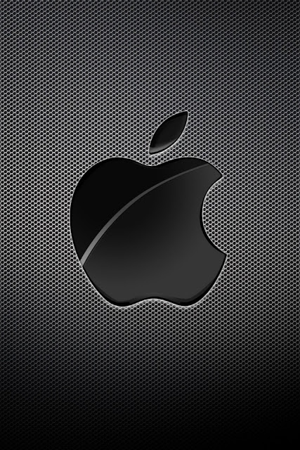 Apple Black Background iPhone Wallpaper By TipTechNews.com
