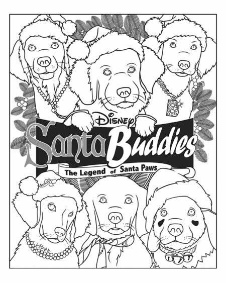 christmas puppies coloring pages for kids disney coloring pages