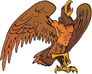 Brown Big Eagle Free Clipart
