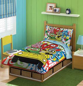 Yo Gabba Gabba Twin Size Bedding