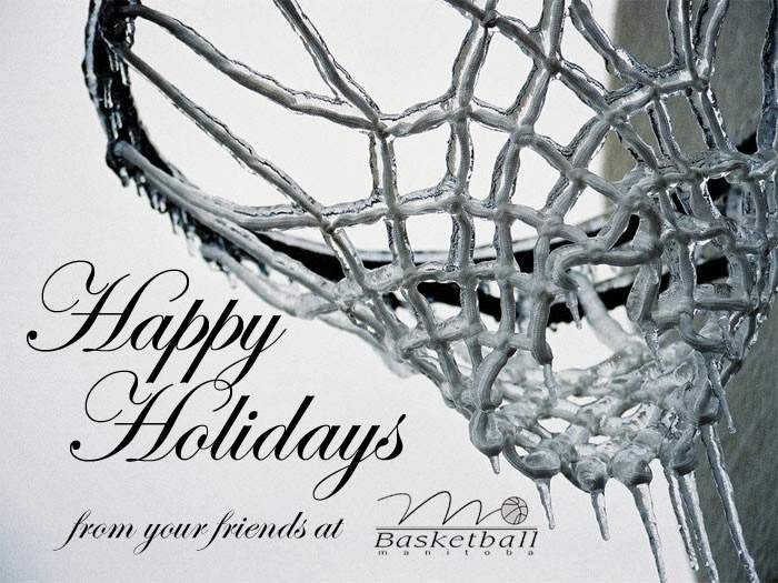 Happy Holidays from Basketball MB