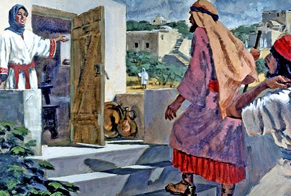 Shunammite woman and Elisha