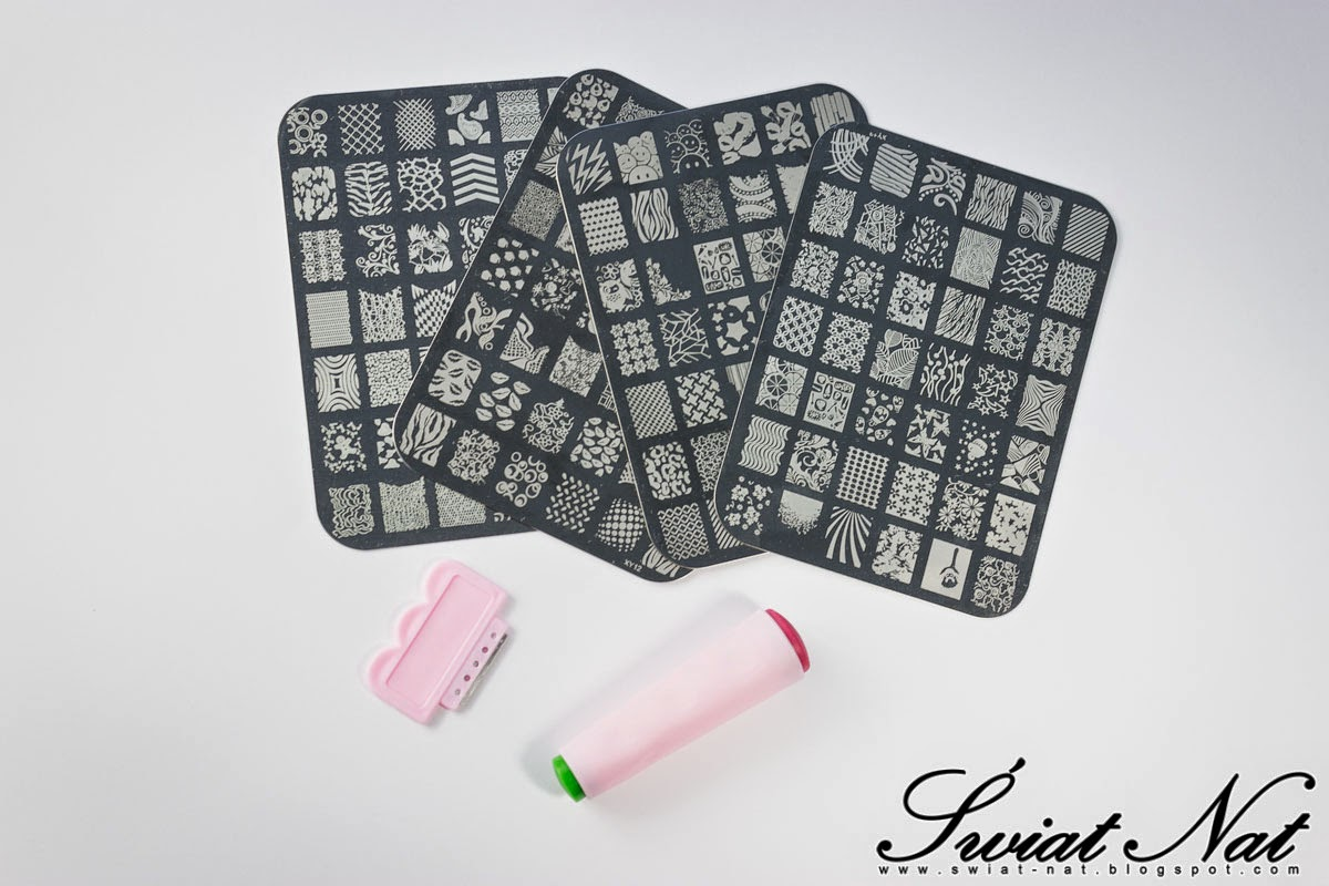 mani manicure stemple stamp stamping
