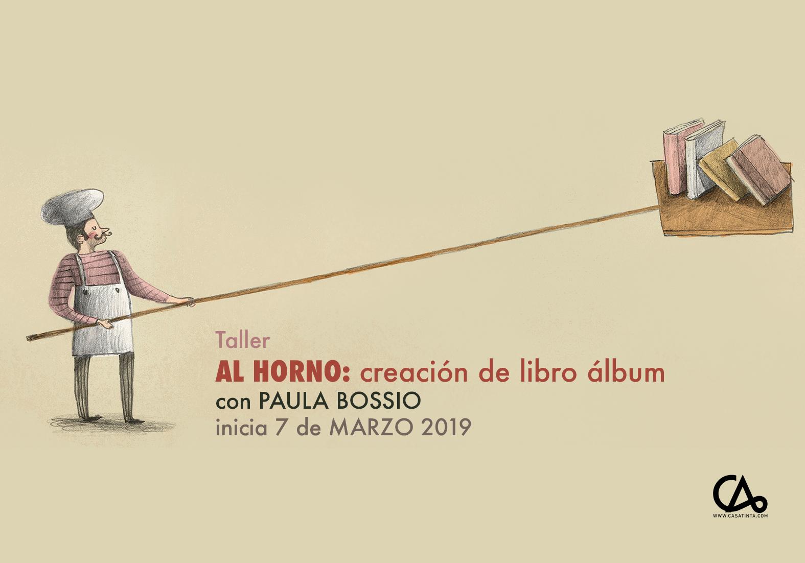AL HORNO: creación de libro álbum // 4 de abril
