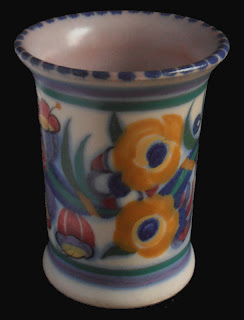 Poole Pottery Art Deco Vase 117 EE