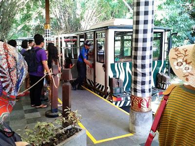 Bis untuk keliling Bali Safari