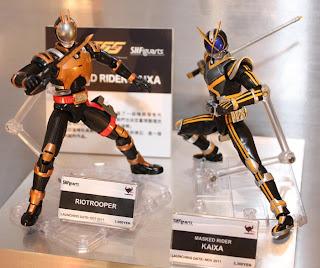 S.H.Figuarts Kamen Rider Kaixa & Riotrooper