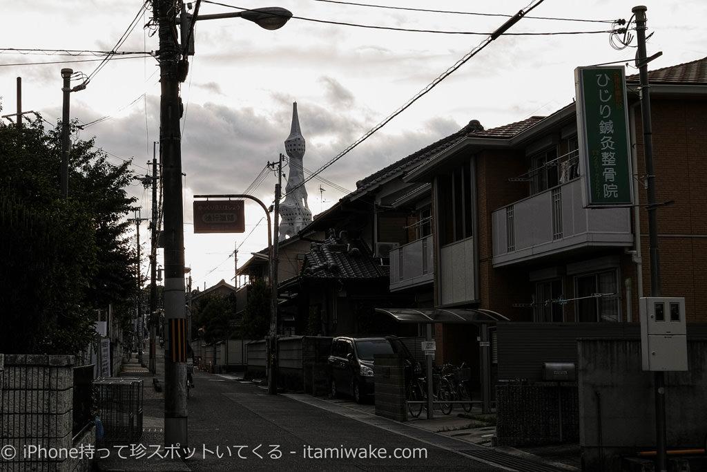 富田林の大きな塔