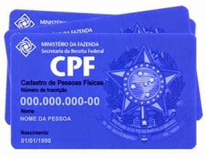 Cadastro CPF