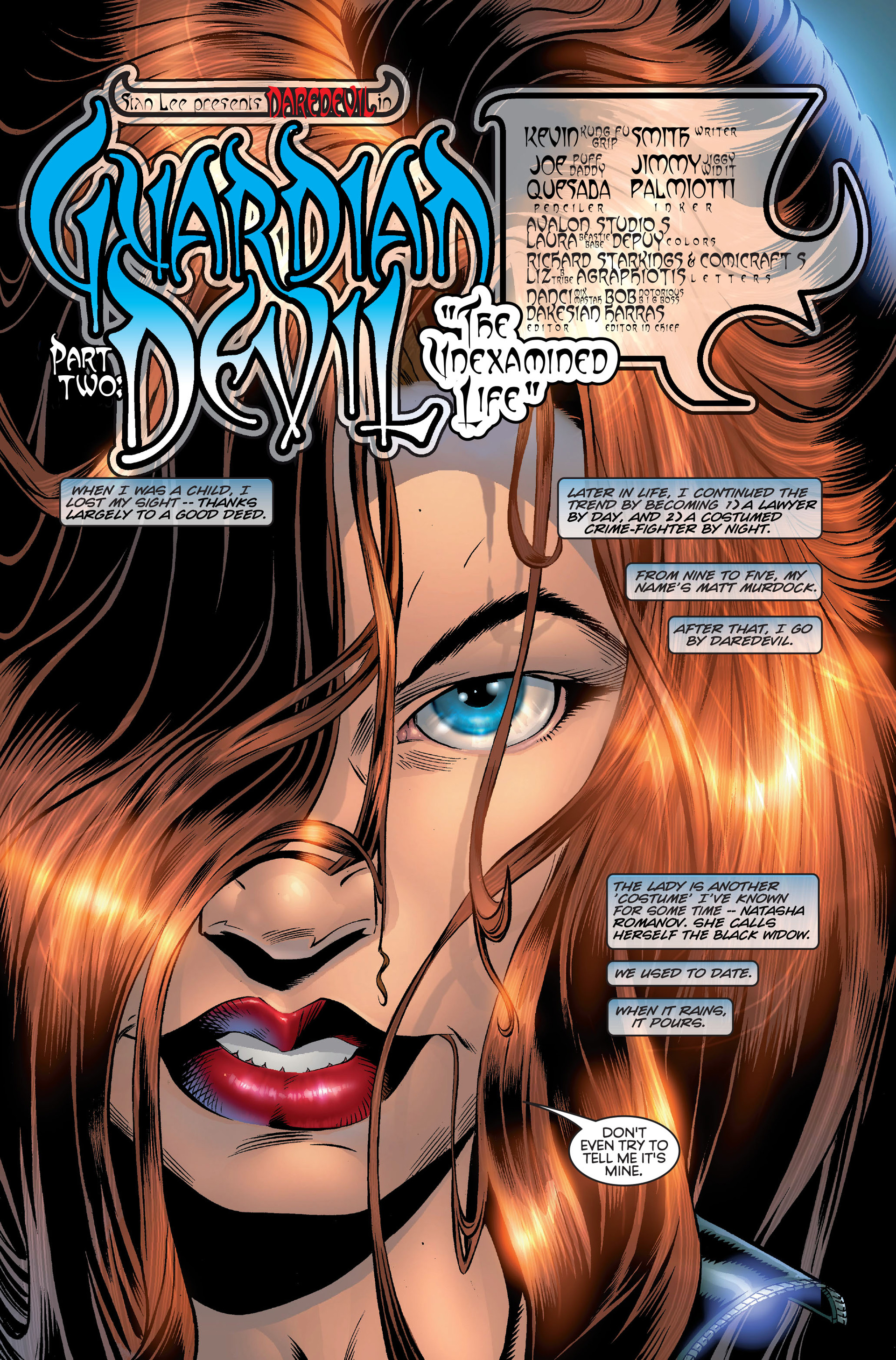 Read online Daredevil (1998) comic -  Issue #2 - 2