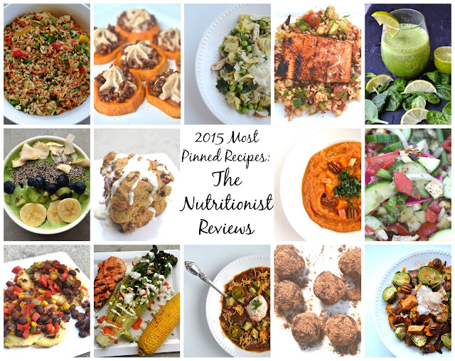 Top 20 Most Pinned Recipes of 2015: The Nutritionist Reviews
