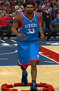 NBA 2K13 Philadelphia 76ers Alternate Jersey Patch
