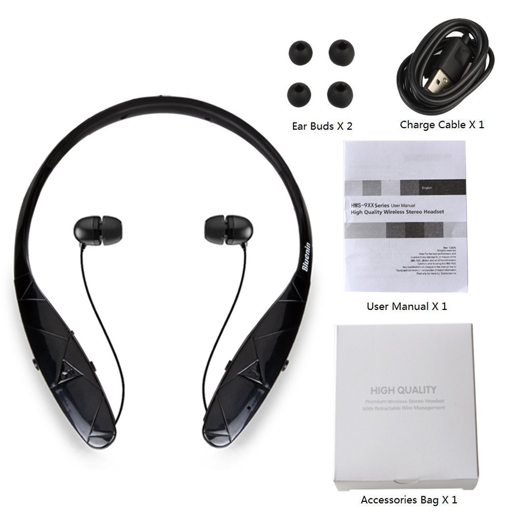 foxxy fashions beauty reviews bluetooth headphones bluenin stereo neckband wireless headset. Black Bedroom Furniture Sets. Home Design Ideas