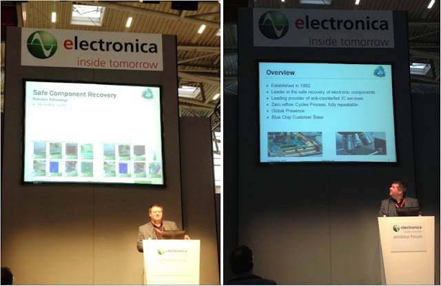 Retronix Ltd. | Founder Mr.Tony Boswell at Electronica 2012