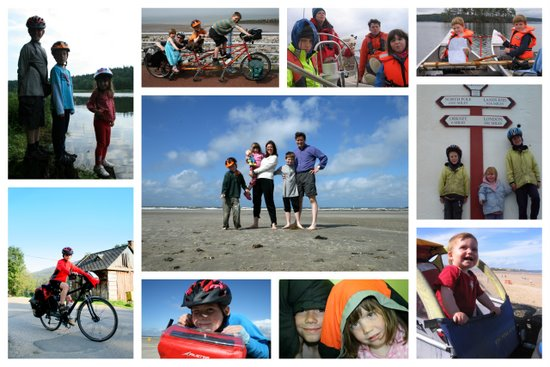 Collages 10 lessons from 10 years adventuring with kids