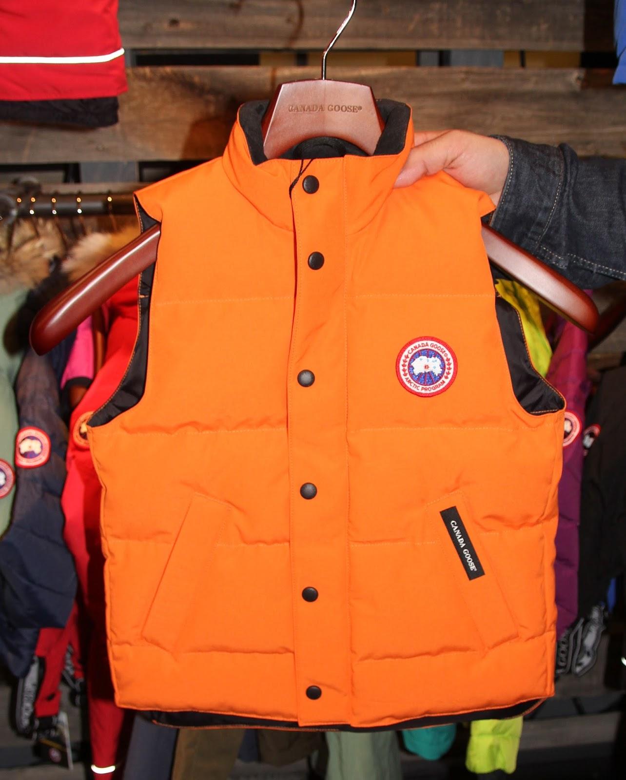 Canada Goose' Men's Lodge Vest - Sunset Orange - Size X Large