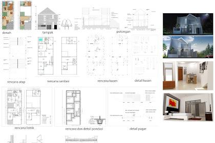 Penyedia Jasa Pembuatan Gambar Kerja Bangunan Lengkap Arsitektur