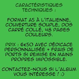 . Les infos utiles sur l'album :