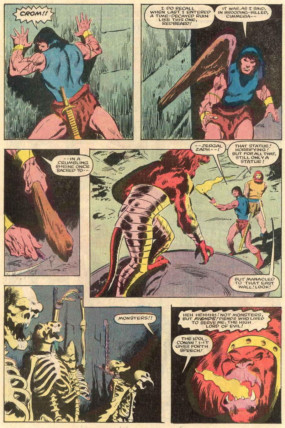Conan the Barbarian (1970) Issue #162 #174 - English 19