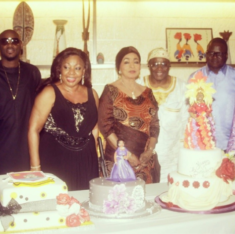 Exclusive Pictures from Senator Florence Ita Giwa's 68th Birthday Party at Skylounge in Eko Hotel .