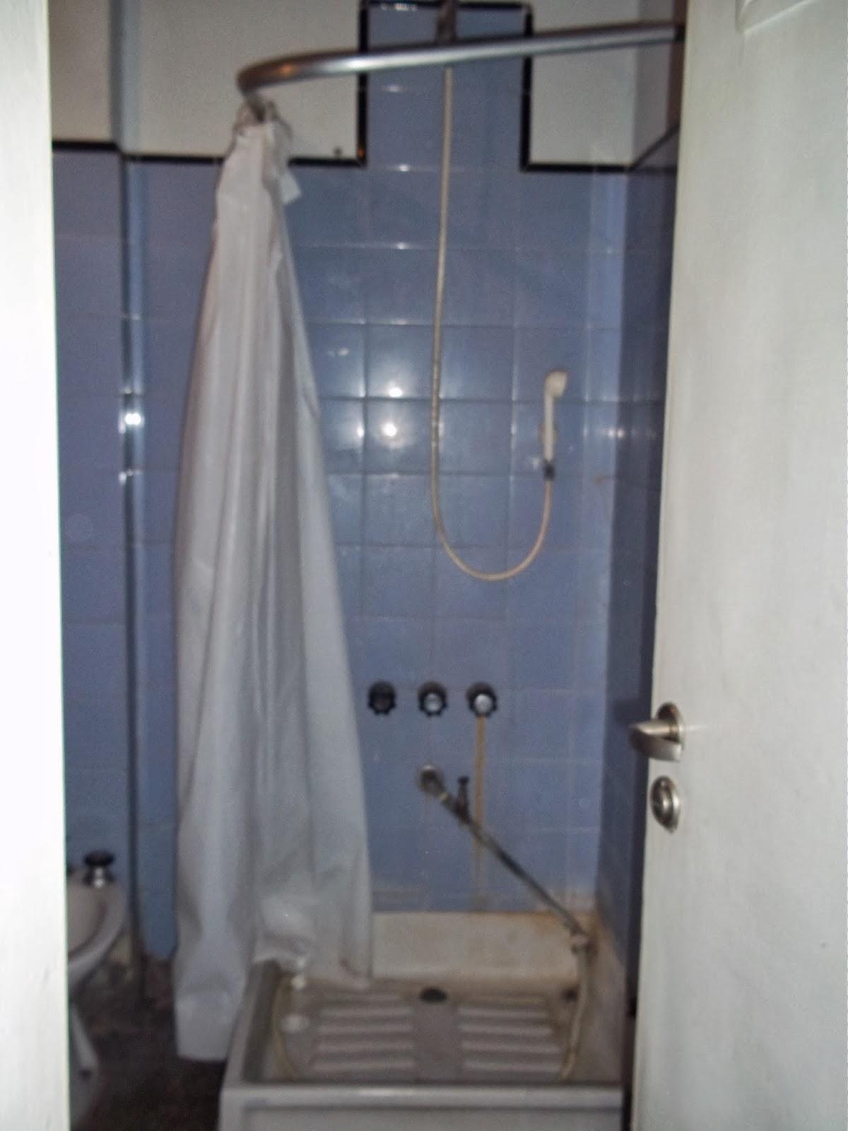 Cortinas De Baño Zona Sur:La zona de la ducha era otro problema
