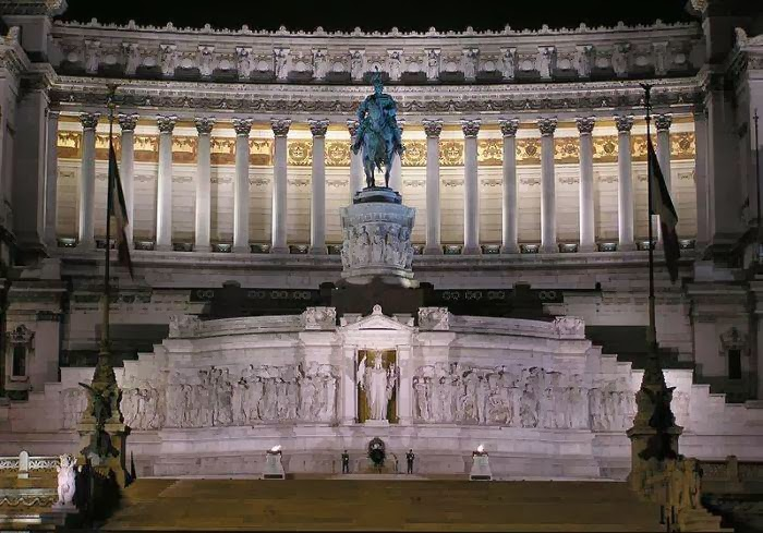 The Monument of the Unknown Soldier, Piazza Venezia in Rome, Italy