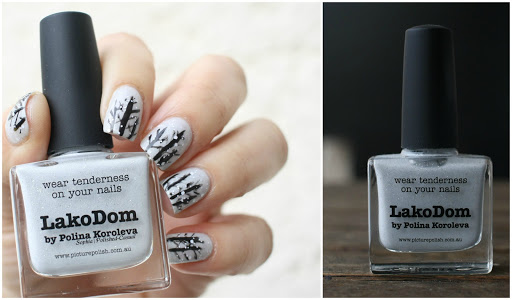 Winter Nails with Picture Polish LakoDom