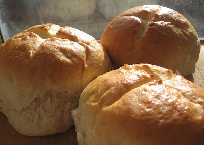 The egg wash turns the bread a beautiful golden brown color.