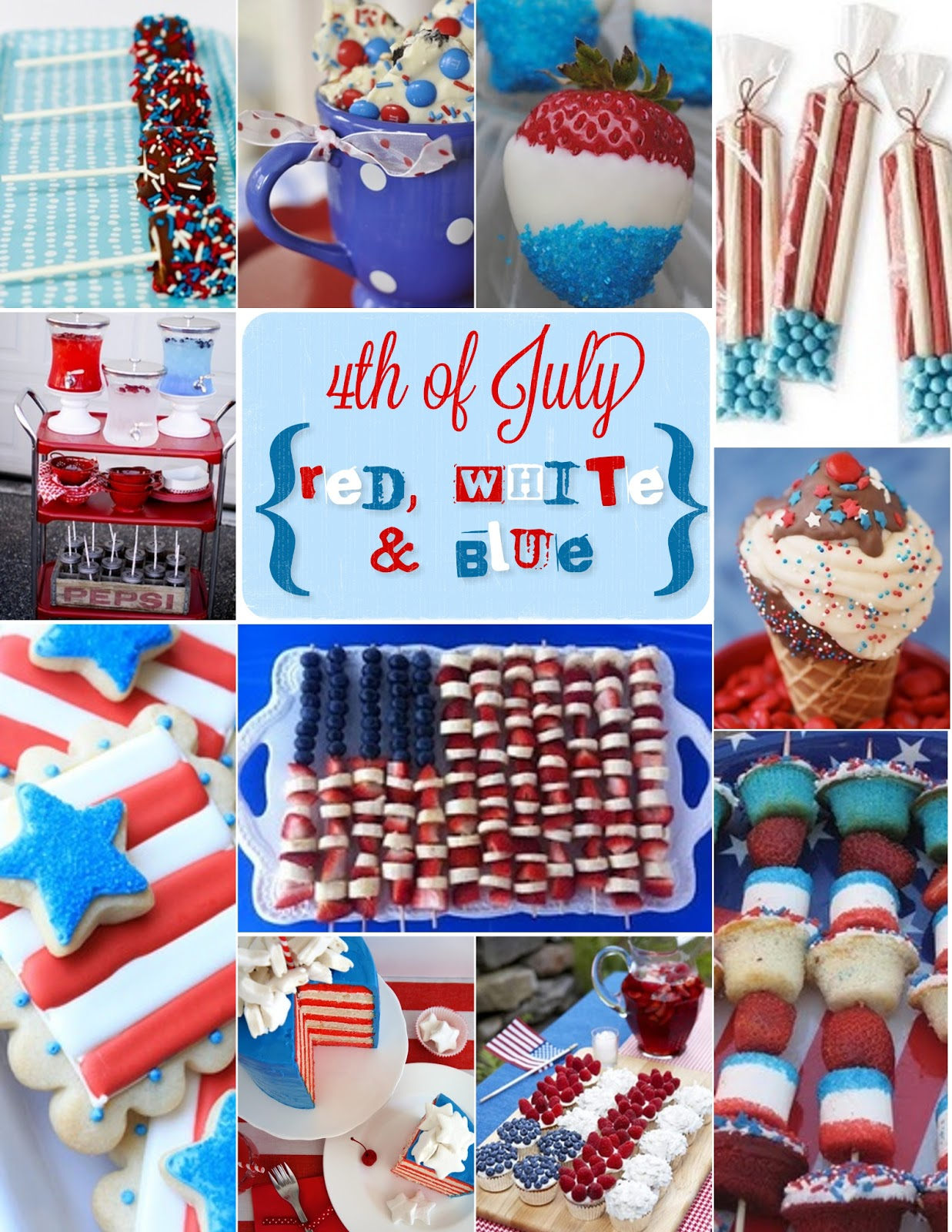 Being creative to keep my sanity 4th of july food idea 39 s for July 4th food ideas