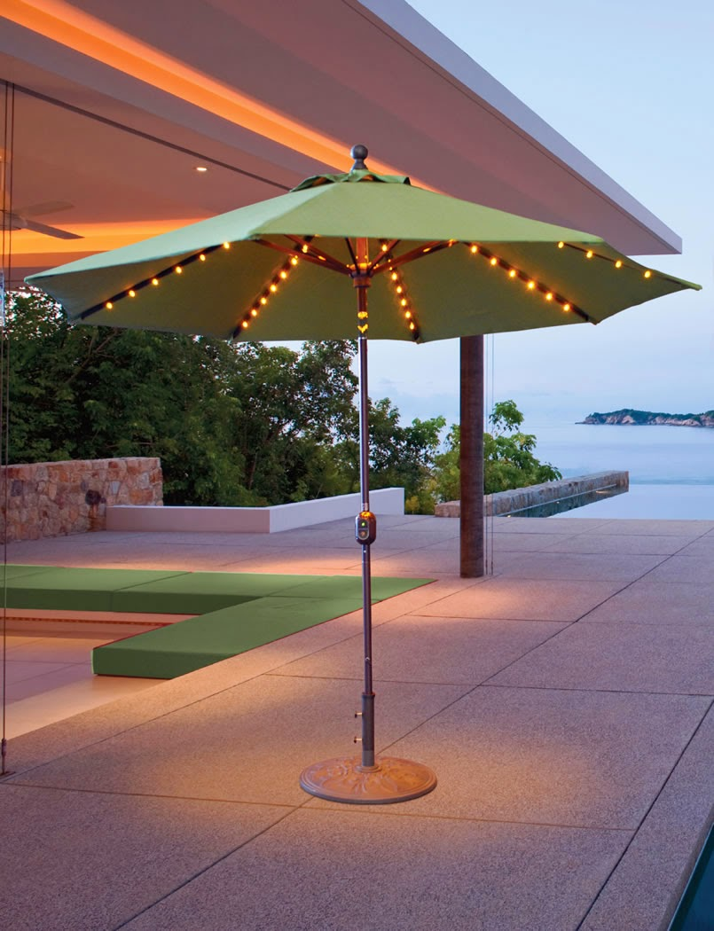 Patio Umbrella Lights Large