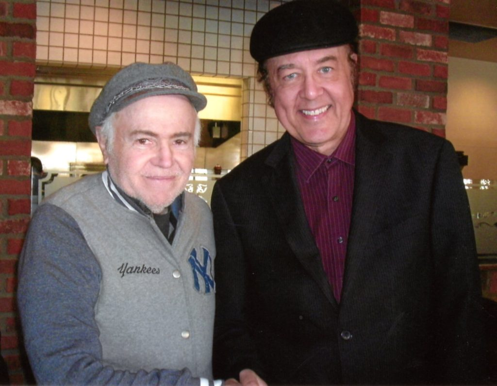 "Harter with ""Star Trek's"" Walter Koenig who wrote the Afterward to the new ""Novak"" book"