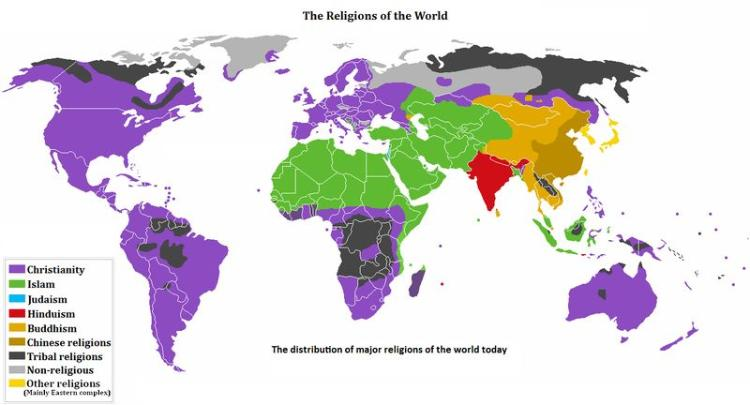 the beliefs in the religions of judaism hinduism and buddhism