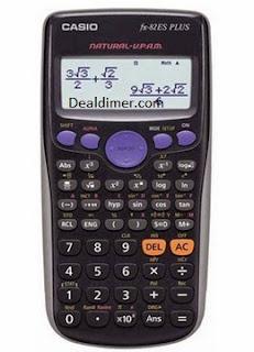 Casio FX -82ES PLUS Scientific Calculator (Digits-12)