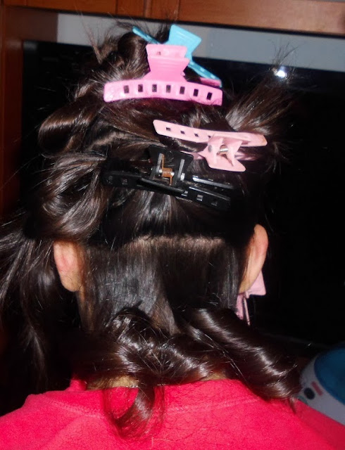 Con el pelo largo quedan como tirabuzones