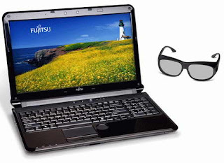 Fujitsu LifeBook AH572 3D notebook images