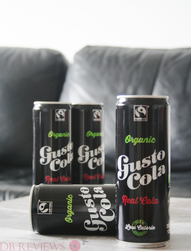 Gusto Cola Fairtrade and Organic Cola