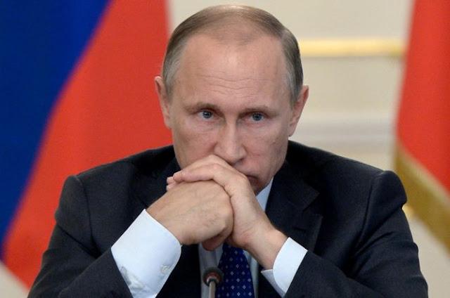 Putin Sebut Dukungan AS untuk Pemberontak Suriah Ilegal