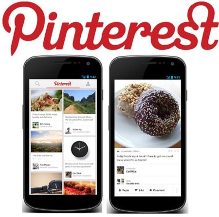 Free Download Pinterest app for android devices