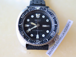 SEIKO DIVER 6309 7040 PART B - ORIGINAL DIAL BEZEL AND HANDS - AUTOMATIC