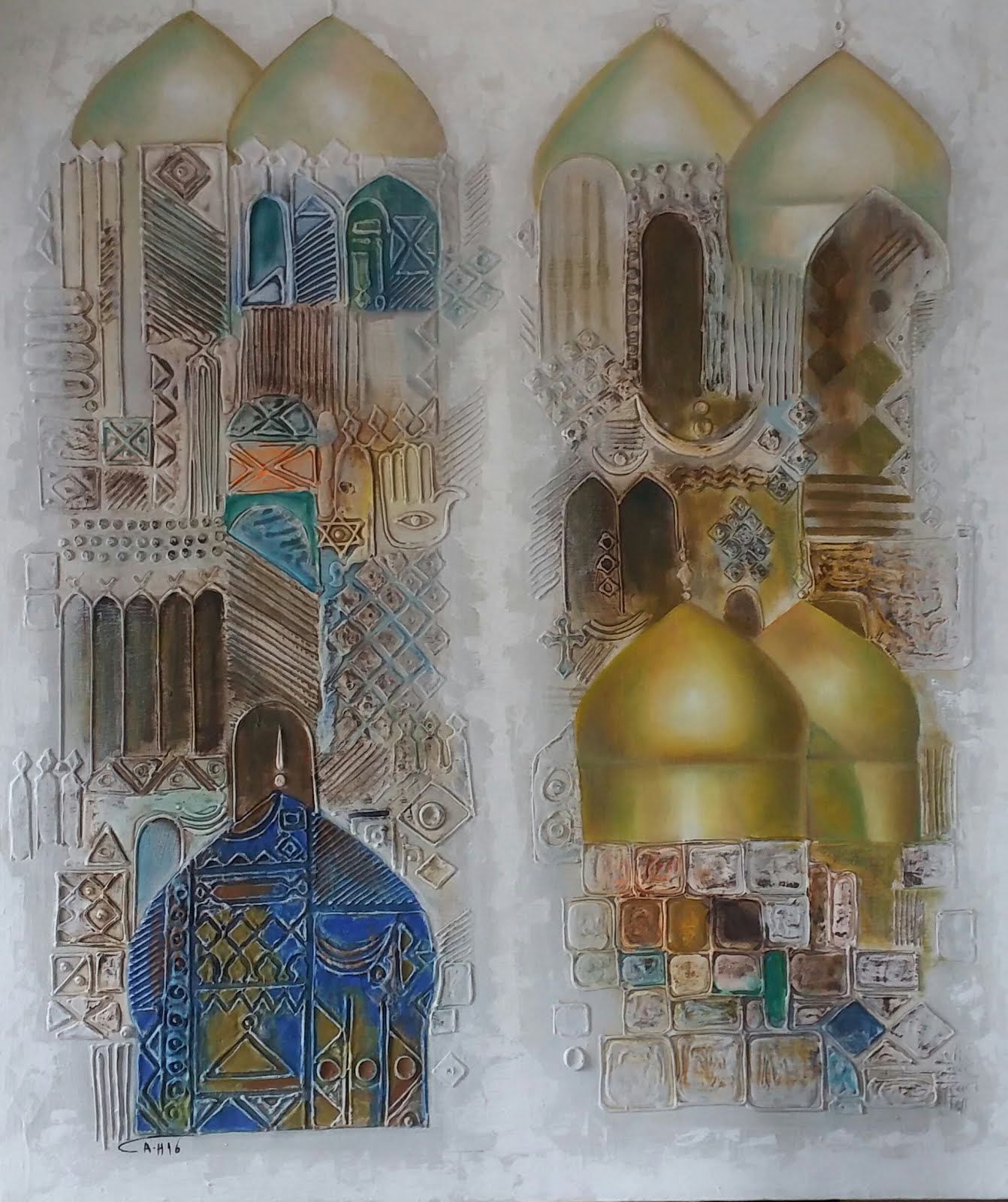 April artist-Ahmad Al Bujasim
