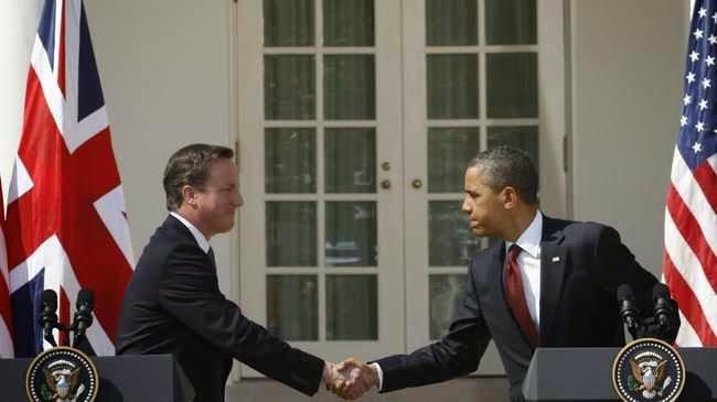 """EEUU y Gran Bretaña realizan juegos de """"guerra financiera"""" en defensa de su imperio capitalista mun"""