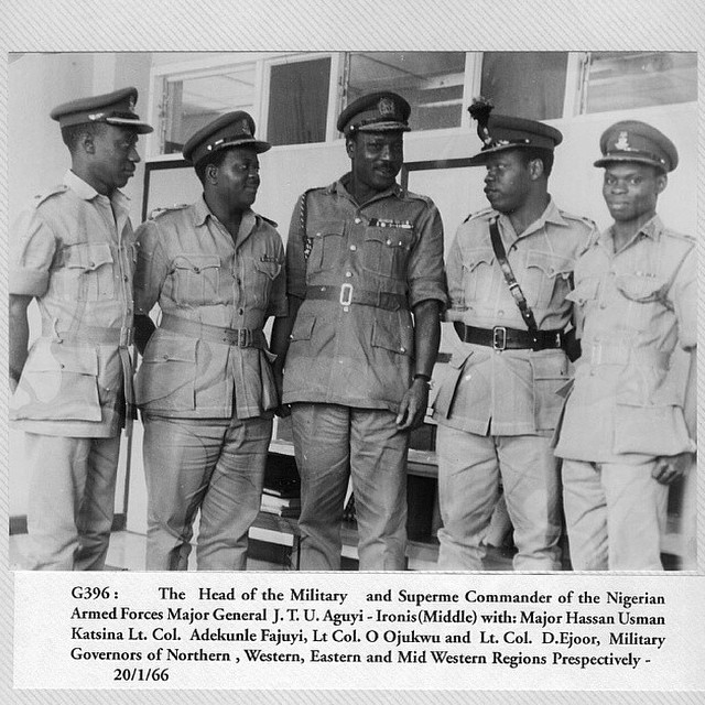 Military incursion in Nigeria - 1966