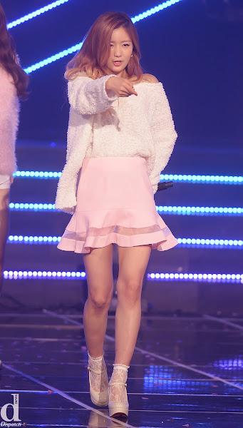 A Pink Bomi Mr Chu Live