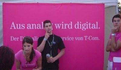 Telekom aus anal wird digital