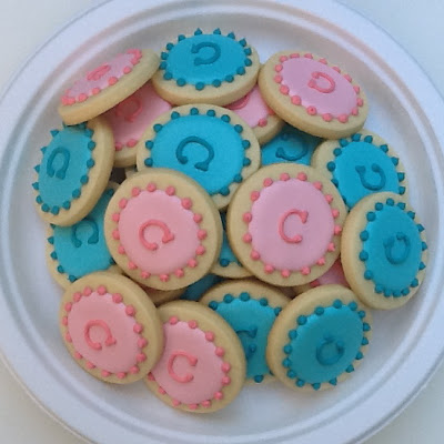 Monogram Cookies by Nina's Show & Tell