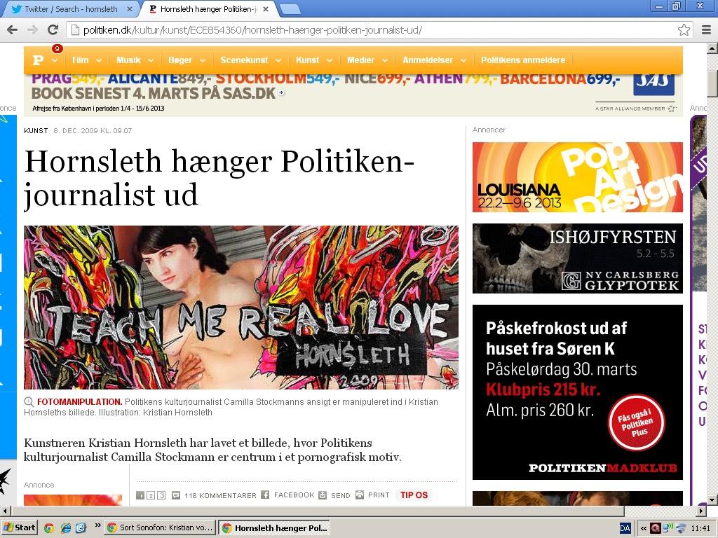 kristian von hornsleth dating hjemmeside